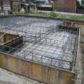 津島市 「ホームシアター&水槽のあるおしゃれなリビングの家」基礎配筋検査