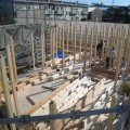 小牧市 平屋住宅 建て方2