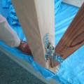 津島市 大きな吹抜けのある家 軸組工事3