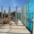 津島市 大きな吹抜けのある家 建て方3
