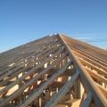 津島市 大きな吹抜けのある家 屋根垂木